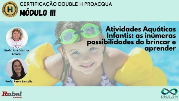 Atividades aquáticas infantis: As inúmeras possibilidades do brincar e aprender