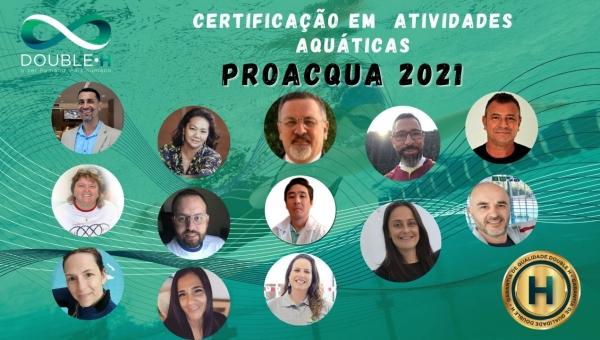 Certificação em Atividades Aquáticas Double H ProAcqua_presencial/remota