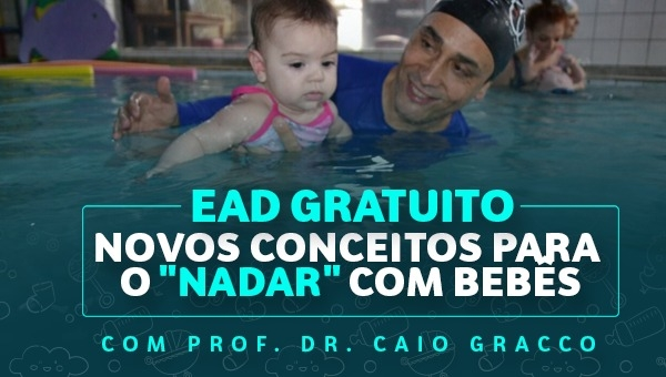"""EAD Novos Conceitos para o """"Nadar"""" com Bebês"""