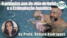 O primeiro ano de vida do bebê e a Estimulação Aquática