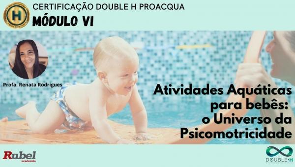 Atividades aquáticas para bebês