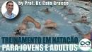 Treinamento em natação para jovens e adultos